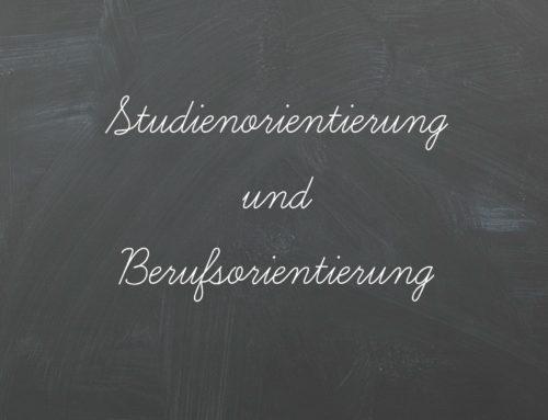 Studienorientierung und Berufsorientierung