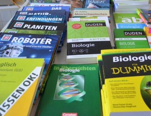 Siegerehrung der Biologieolympiade