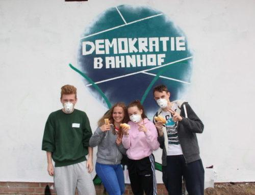 Projekt am Demokratiebahnhof