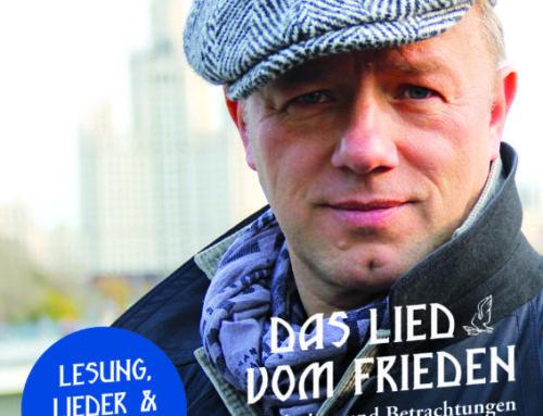 NICHT VERGESSEN: Lesung, Lieder und Gespräch mit Tino Eisbrenner