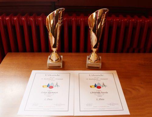 Preisträger der Schulmathematikolympiade 2019