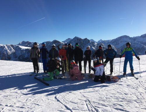 Erste Impressionen vom Skikurs