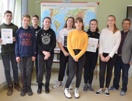Auswertung des Geografiewettbewerbs 2019 / 2020